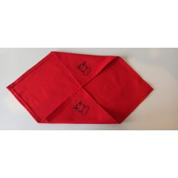 Serviette de table furet